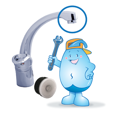 Install flow controllers if water taps cannot be replaced by one with Water Efficiency Label.