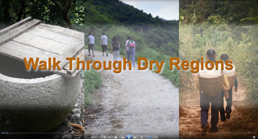 Walk Through Dry Regions